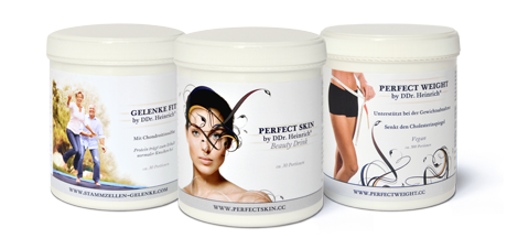 Perfect Cellular Health by DDr. Heinrich® Products