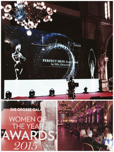 Perfect Skin by DDr. Heinrich® bei den Women of the Year Awards 2015